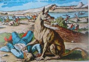 Bestia de Gévaudan, truculenta historia acaecida en Francia no S. XVIII